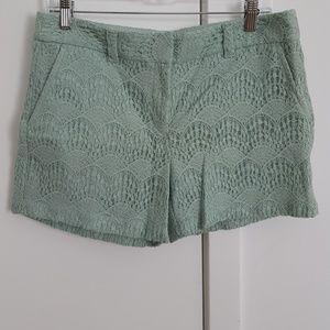 Loft lace shorts
